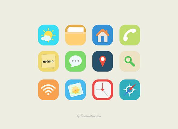 free-flat-icons2