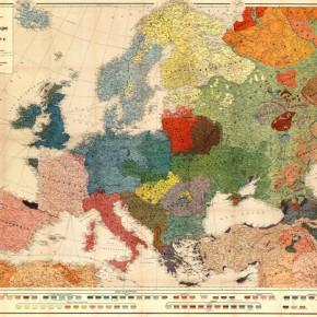 Інтерактивна інфографіка. Як змінювались кордони країн Європи (відео)