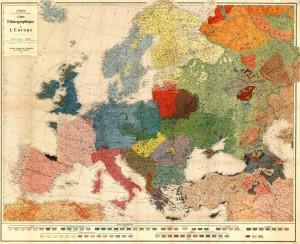 EtnohrafichnaKartaEvropa1918