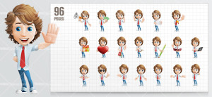 Yuppie_Cartoon_Character_Set_Preview_Small1