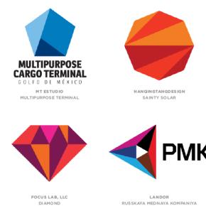 Тренди в дизайні логотипів 2014