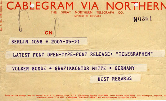 telegraphem