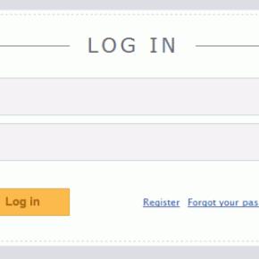 Створення форми авторизації з використанням HTML5 та CSS3