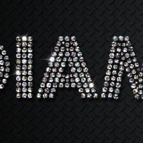 Текст із мерехтливих діамантів в Adobe Photoshop
