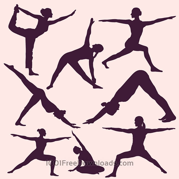 free-yoga-vector1
