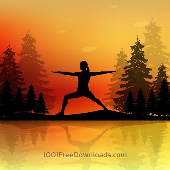free-yoga-vector11