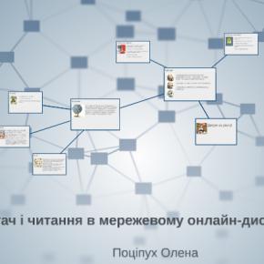 Читач і читання у мережевому онлайн-дискурсі