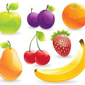 Безкоштовні фрукти у векторному форматі