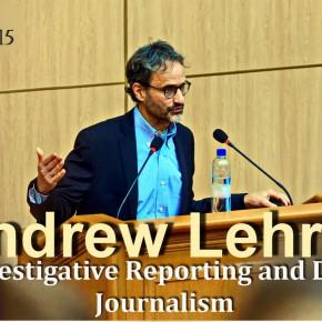 Лекція американського журналіста Ендрю Лерена