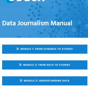 Журналістика даних. Data Journalism Manual